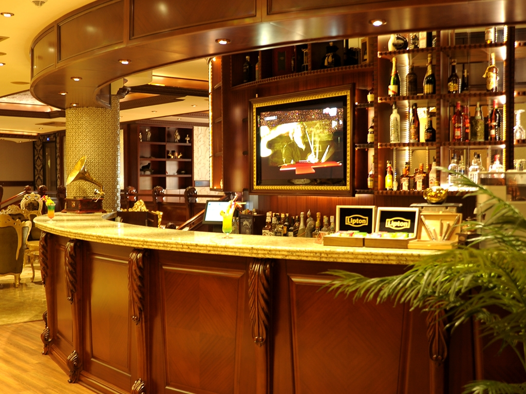 Lobby lounge bar the an life hotels skenderun hatay - Image of bar ...